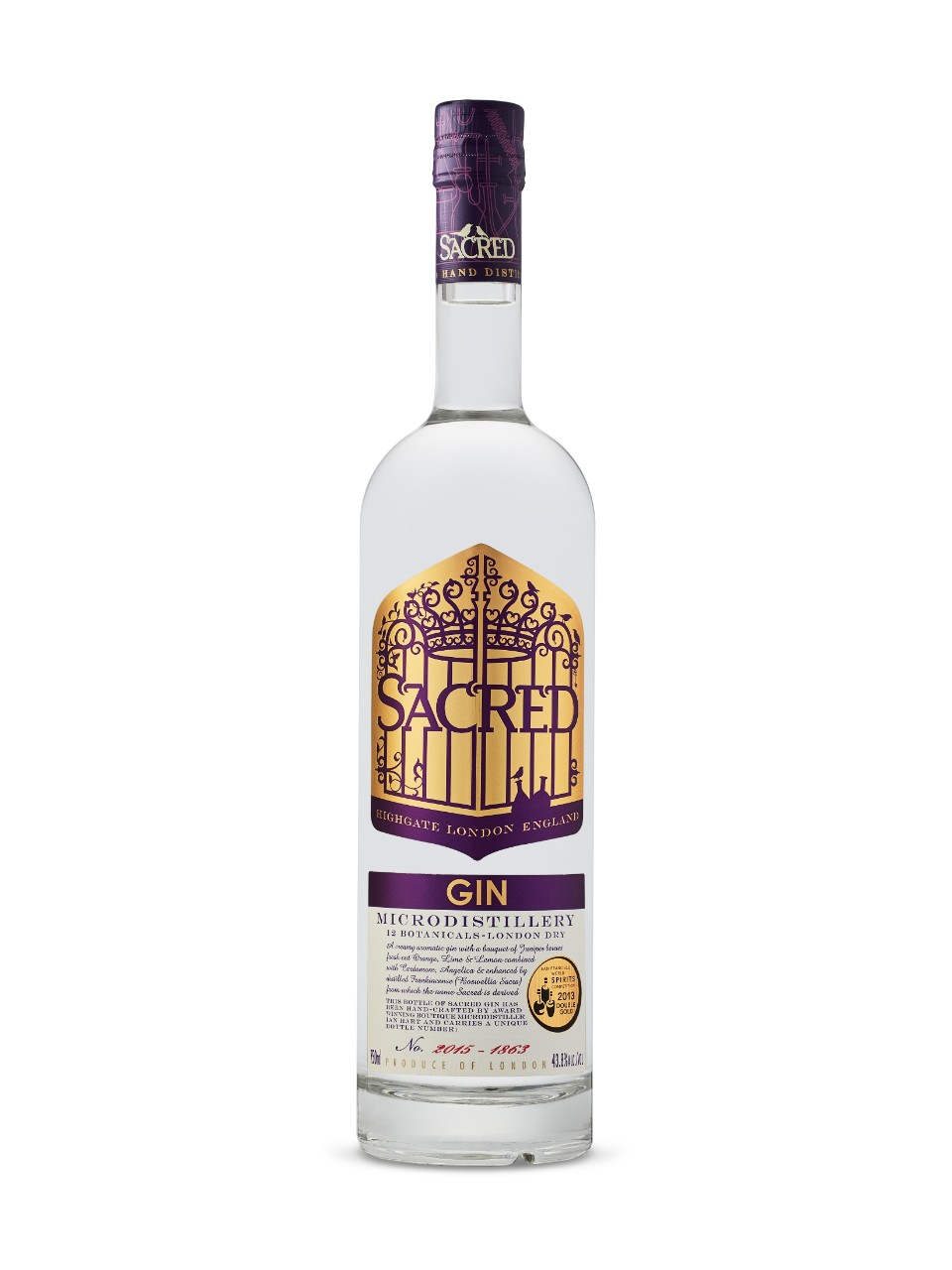 Image for Sacred London Dry Gin from LCBO