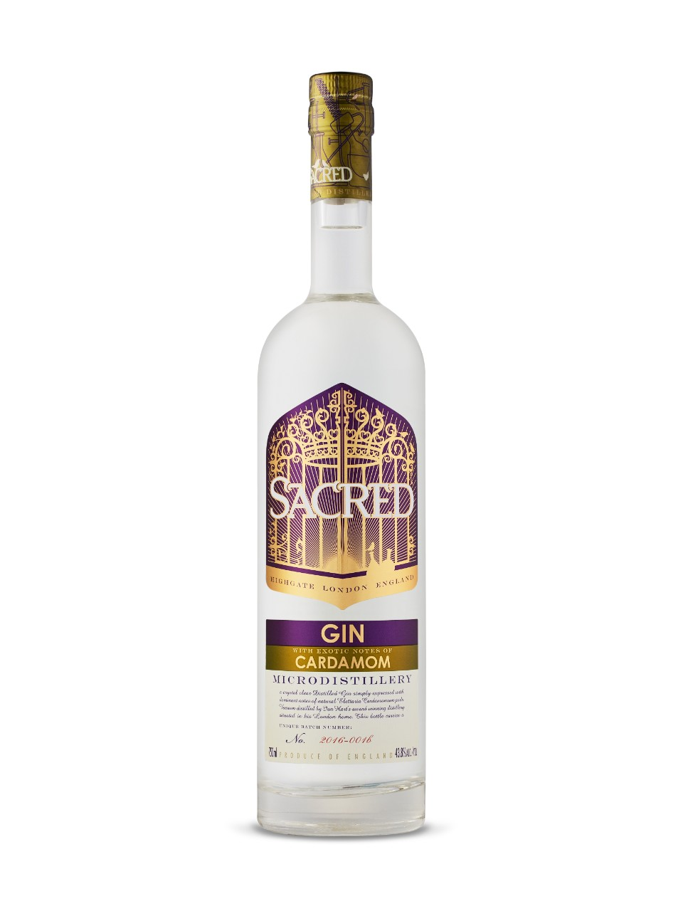 Image for Sacred Gin Cardamom from LCBO