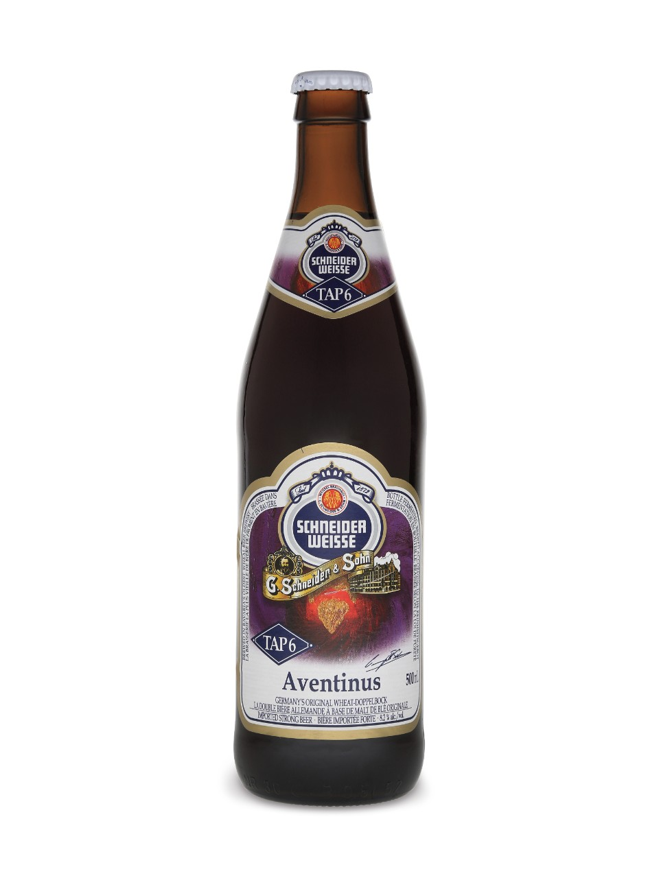 Image for Aventinus Weisendarkbier from LCBO