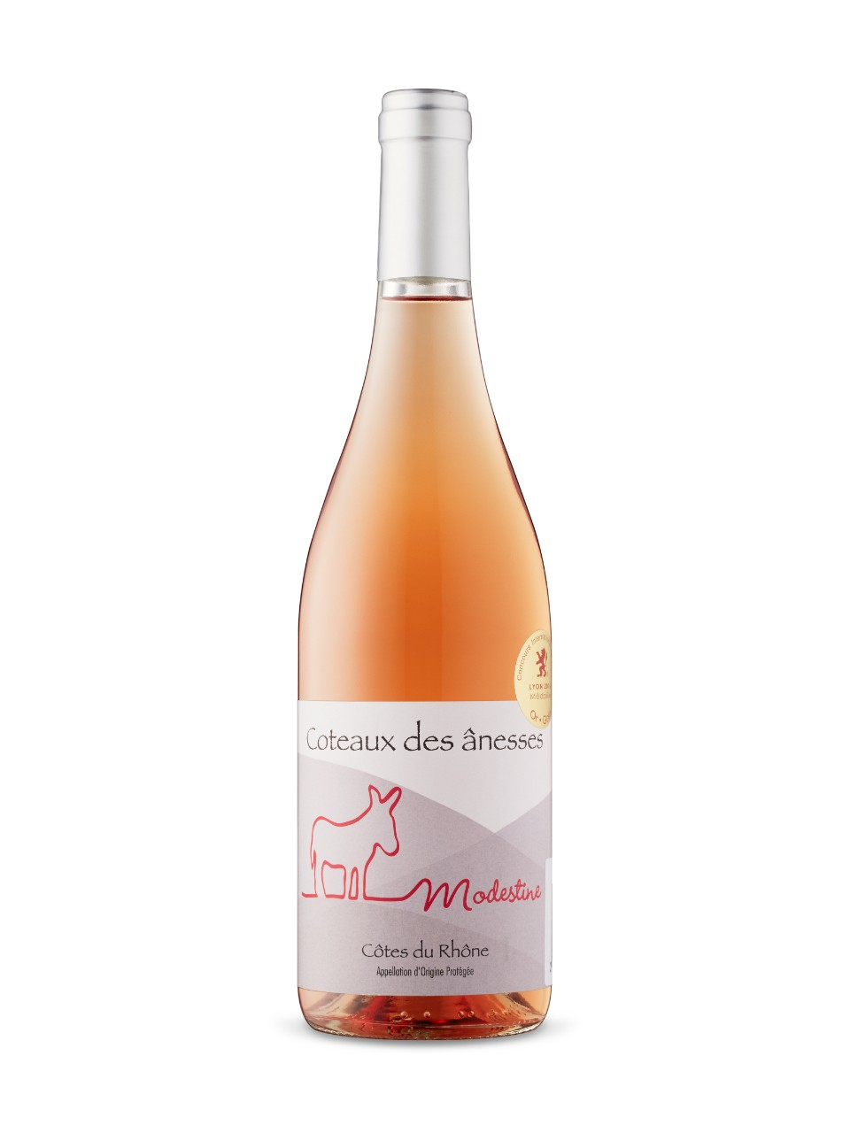 Image for Modestine AOP Cotes Du Rhone Rose 2015 from LCBO