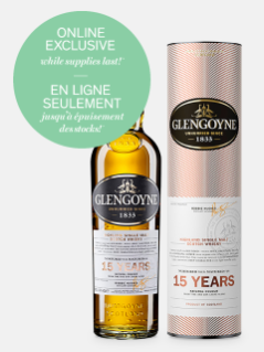 Single Malt des Highlands Glengoyne 15 ans d'âge