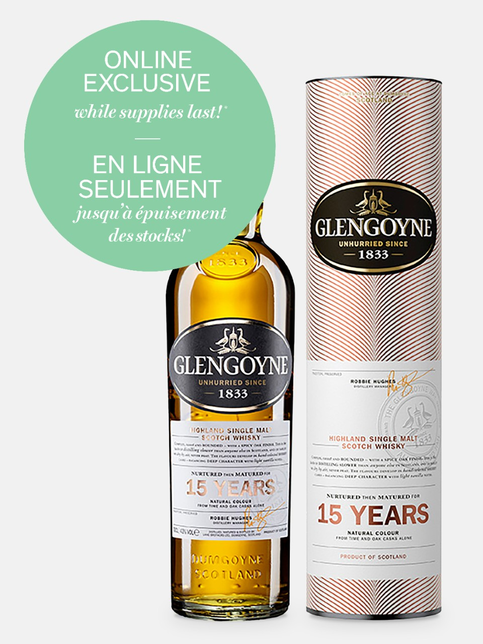 Image for Glengoyne 15 Year Old Highland Single Malt Scotch Whisky from LCBO