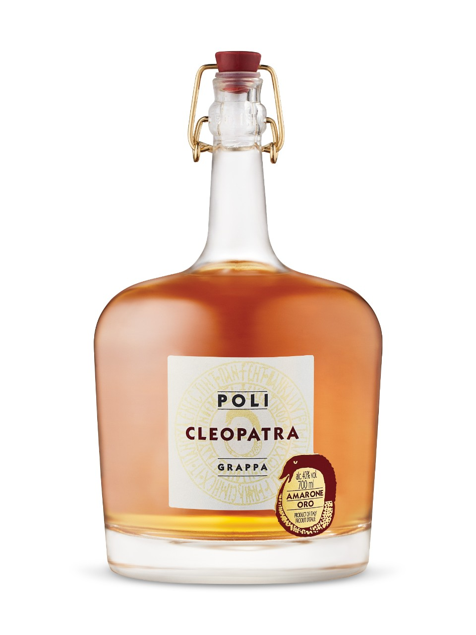 Image for Jacopo Poli Cleopatra Amarone Oro Grappa from LCBO