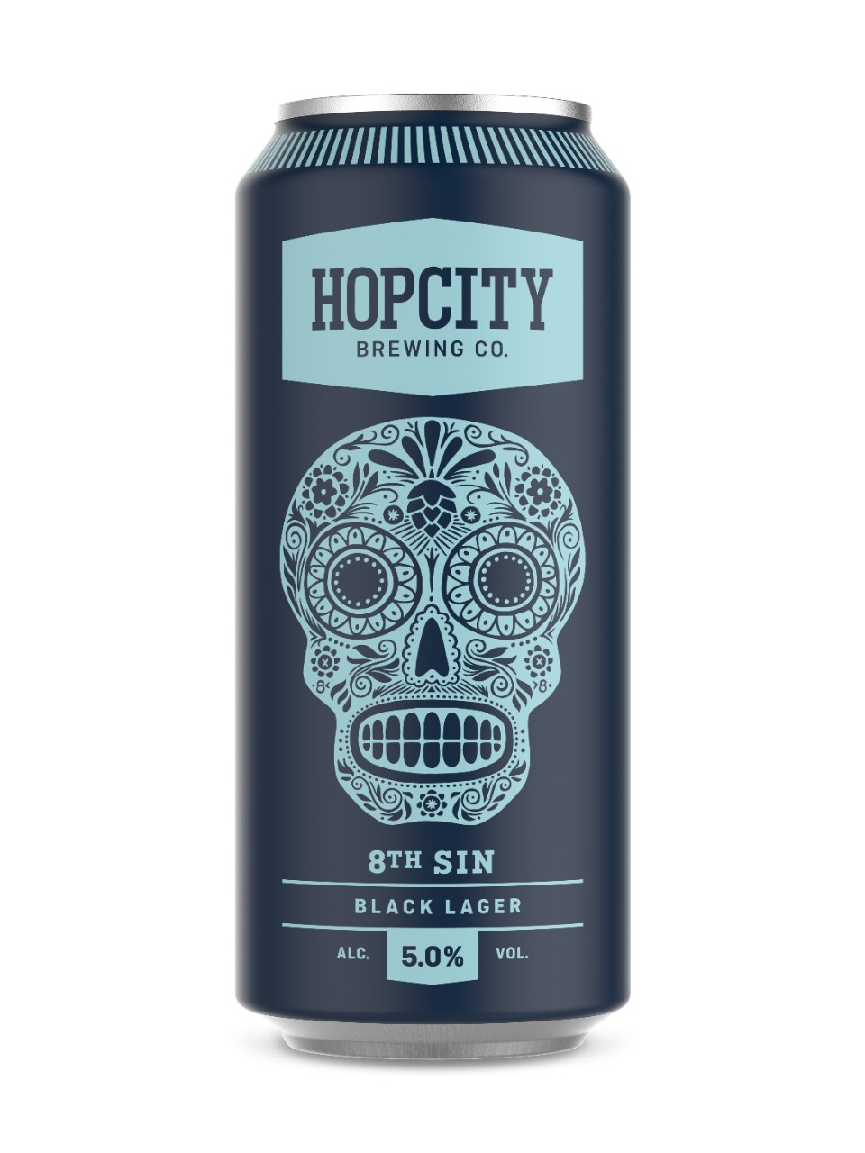 Image for Hop City 8th Sin Black Lager from LCBO
