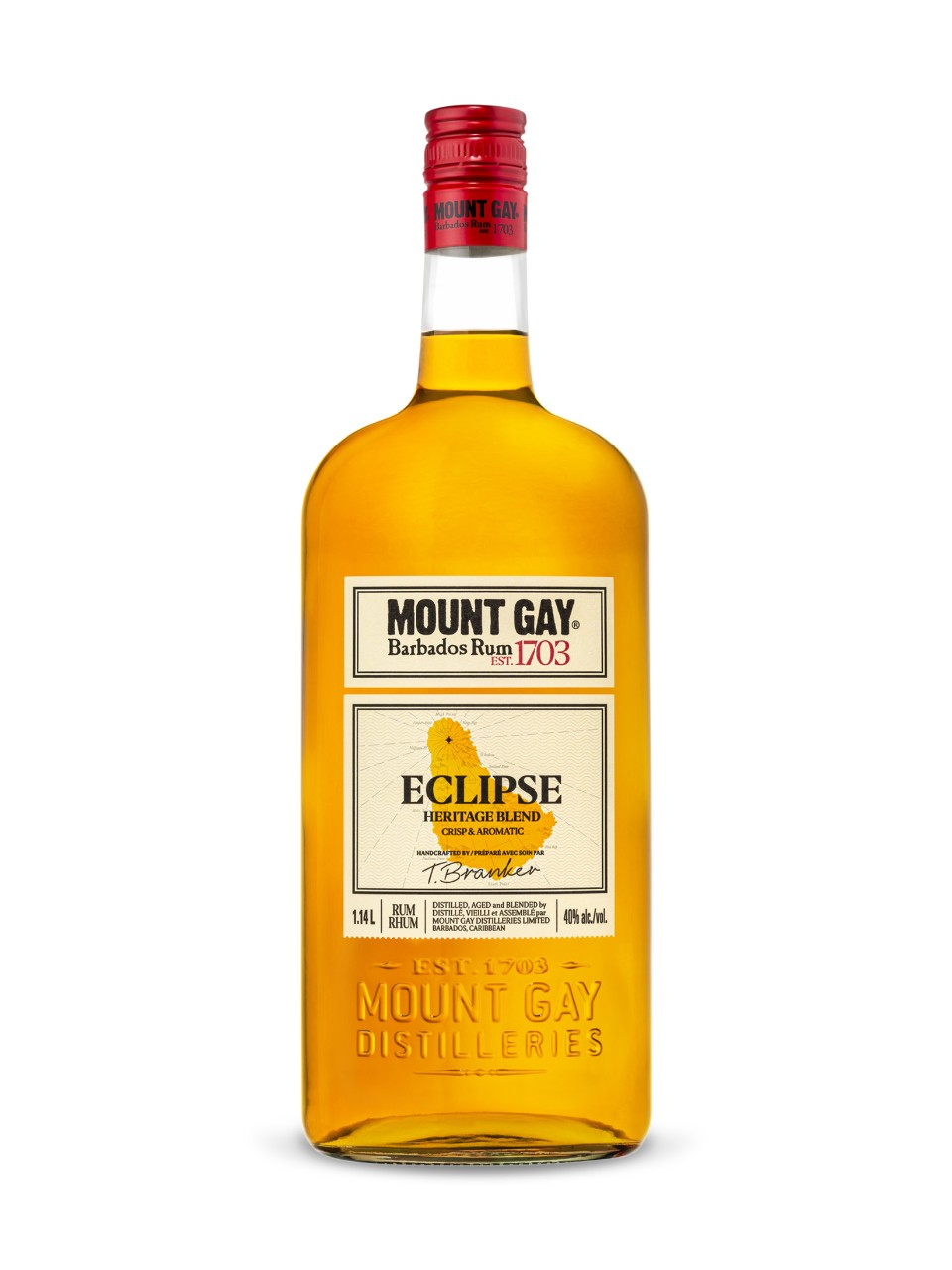 Image for Mount Gay Eclipse Rum from LCBO