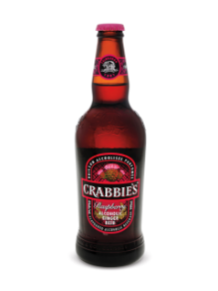 Crabbie's Raspberry Alcoholic Ginger Beer