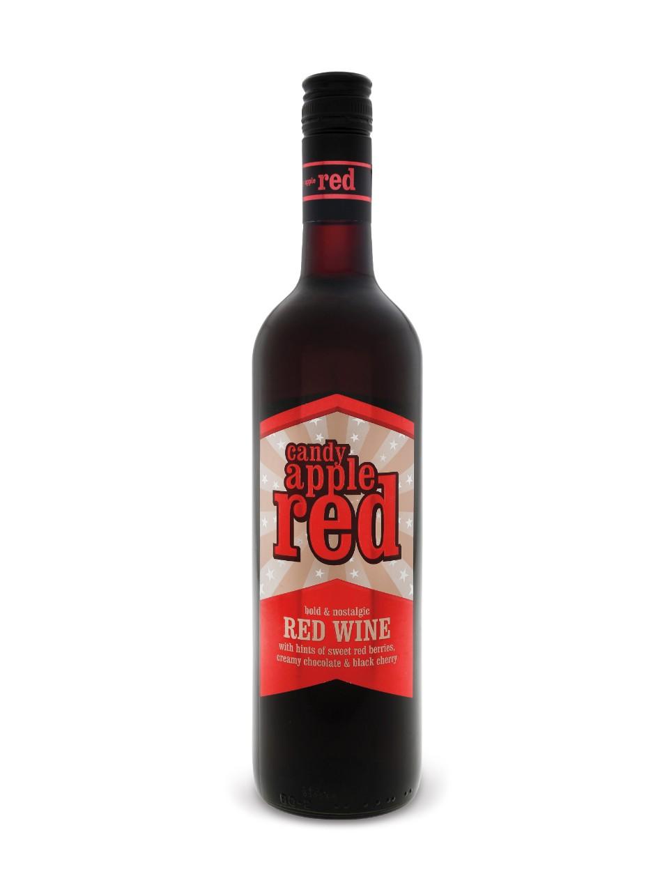 Red Wine Caramel Apples Recipe — Dishmaps