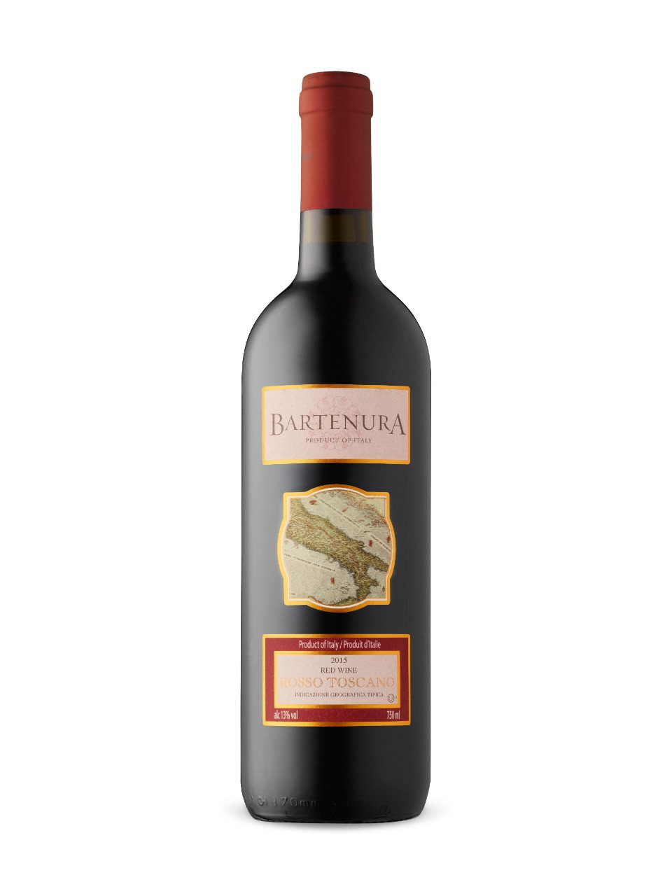 Image for Bartenura Rosso Toscana KPM from LCBO
