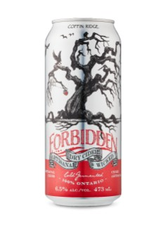 Coffin Ridge Forbidden Artisinal Cider