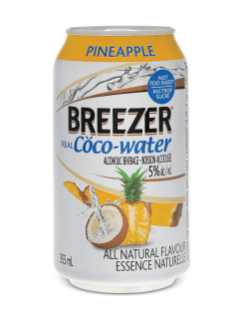 Breezer Real Coco-Water Pineapple