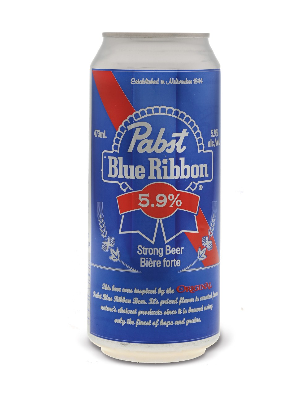 Pabst Blue Ribbon 5.9% from LCBO