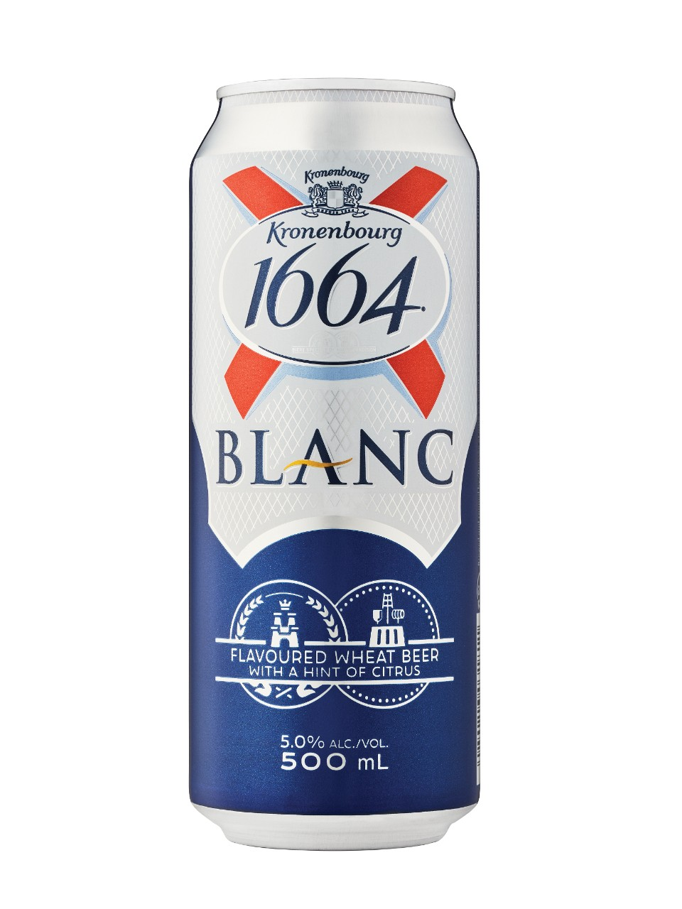 Image for Kronenbourg 1664 Blanc from LCBO