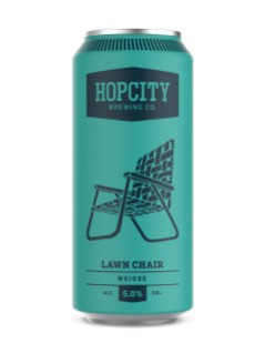 Hop City Lawn Chair Classic Weisse