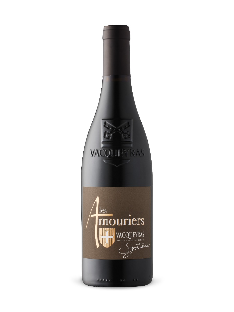 Image for Les Amouriers Signature Vacqueyras 2015 from LCBO