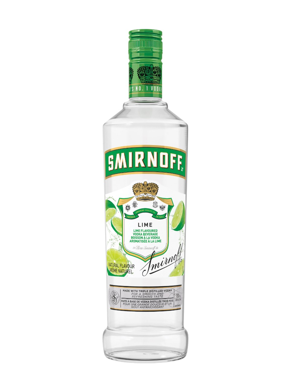 Image for Smirnoff Lime Flavoured Vodka from LCBO