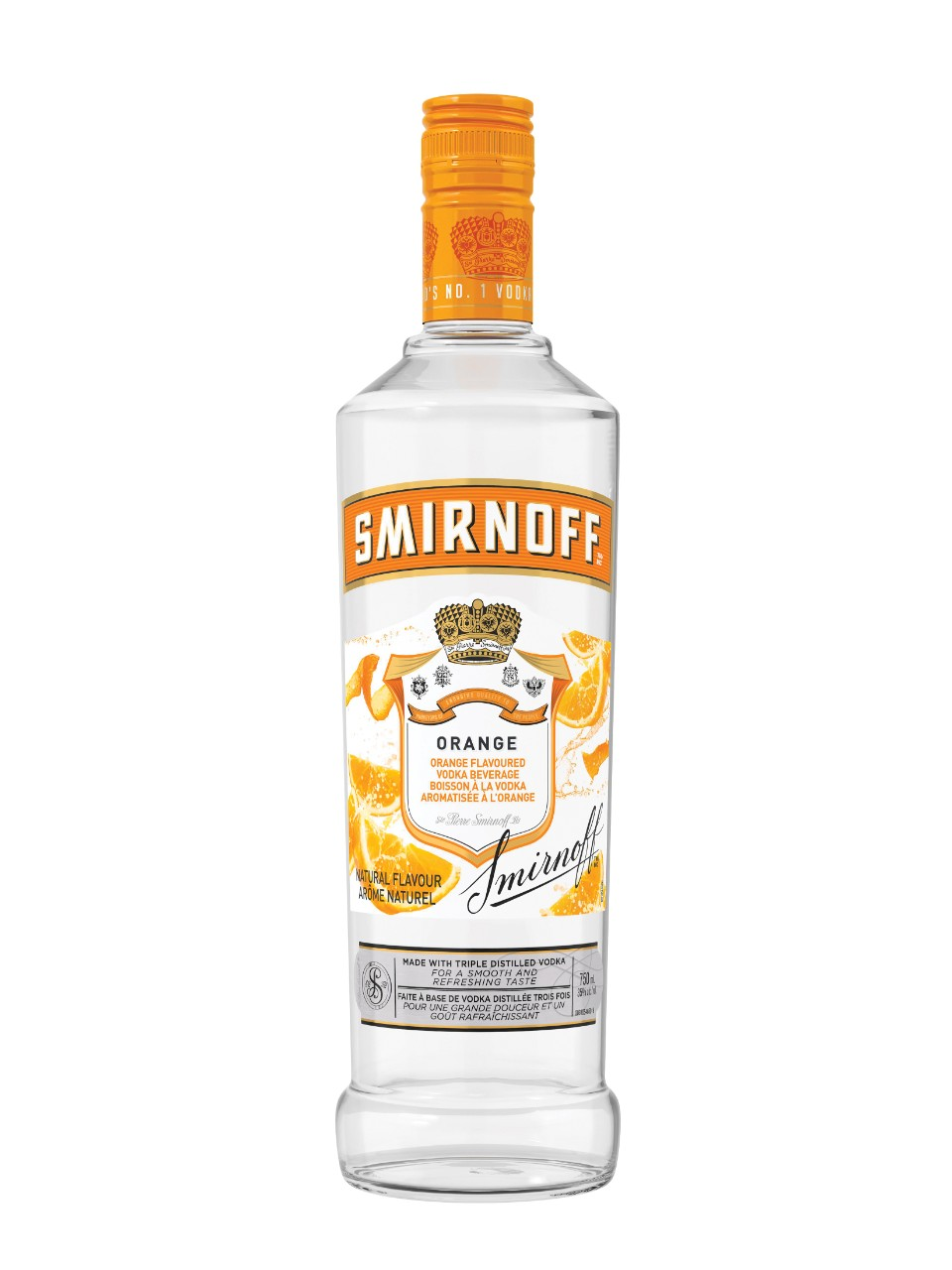 Image for Smirnoff Orange Flavoured Vodka from LCBO