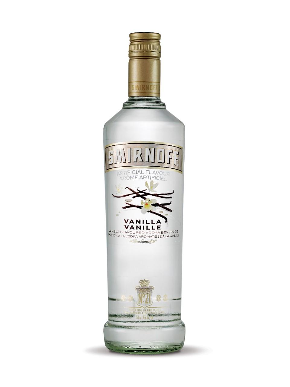 smirnoff vanilla flavoured vodka lcbo