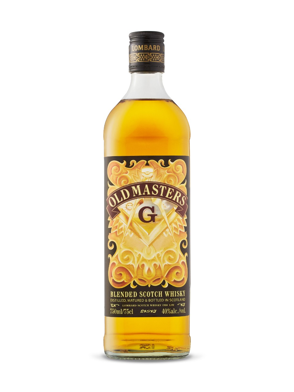 Lombard Old Masters Freemason Blended Scotch Whisky