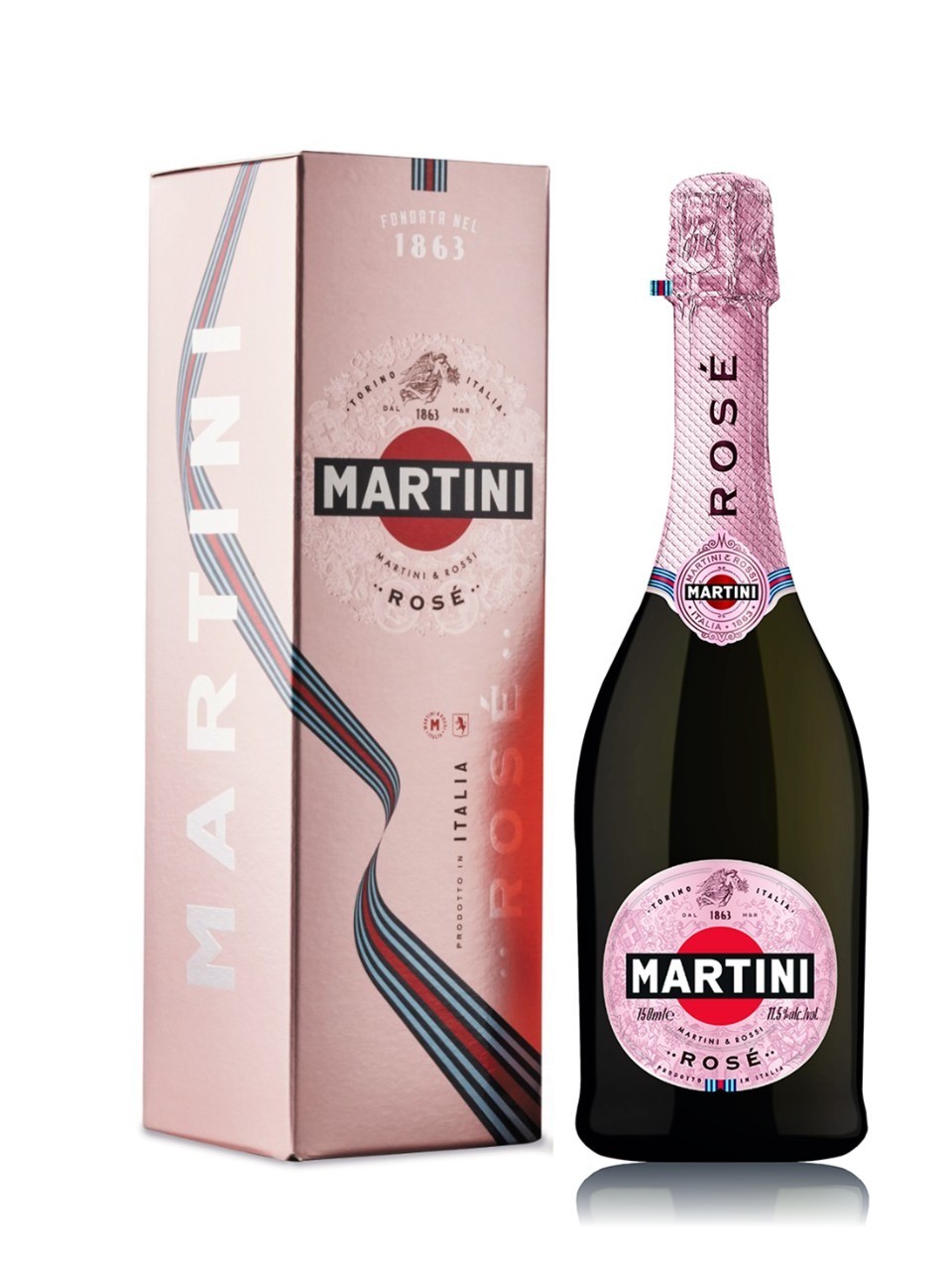 Martini Rose Sparkling Gift Box