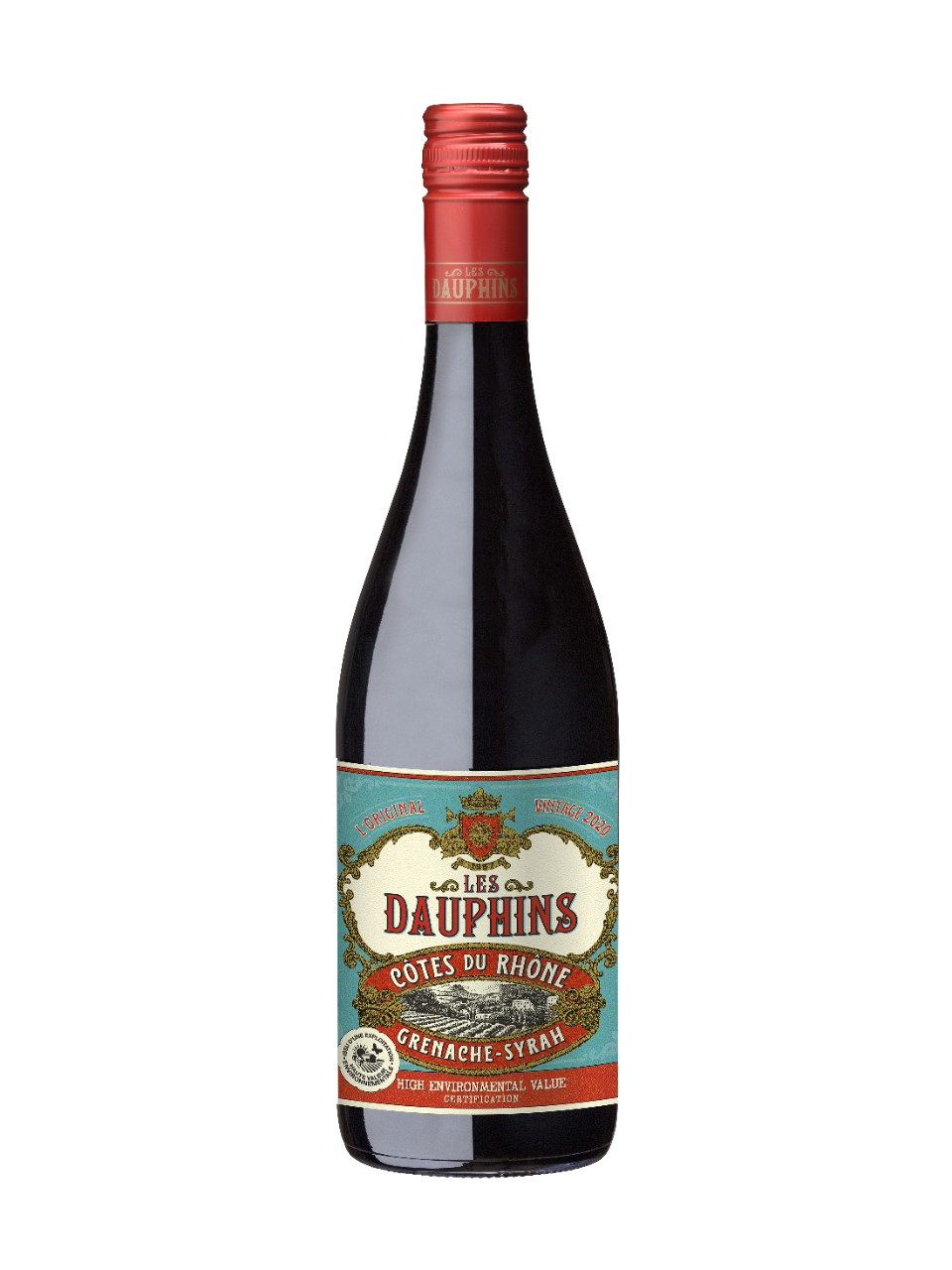 Les Dauphins CdRhone Reserve Red AOC from LCBO