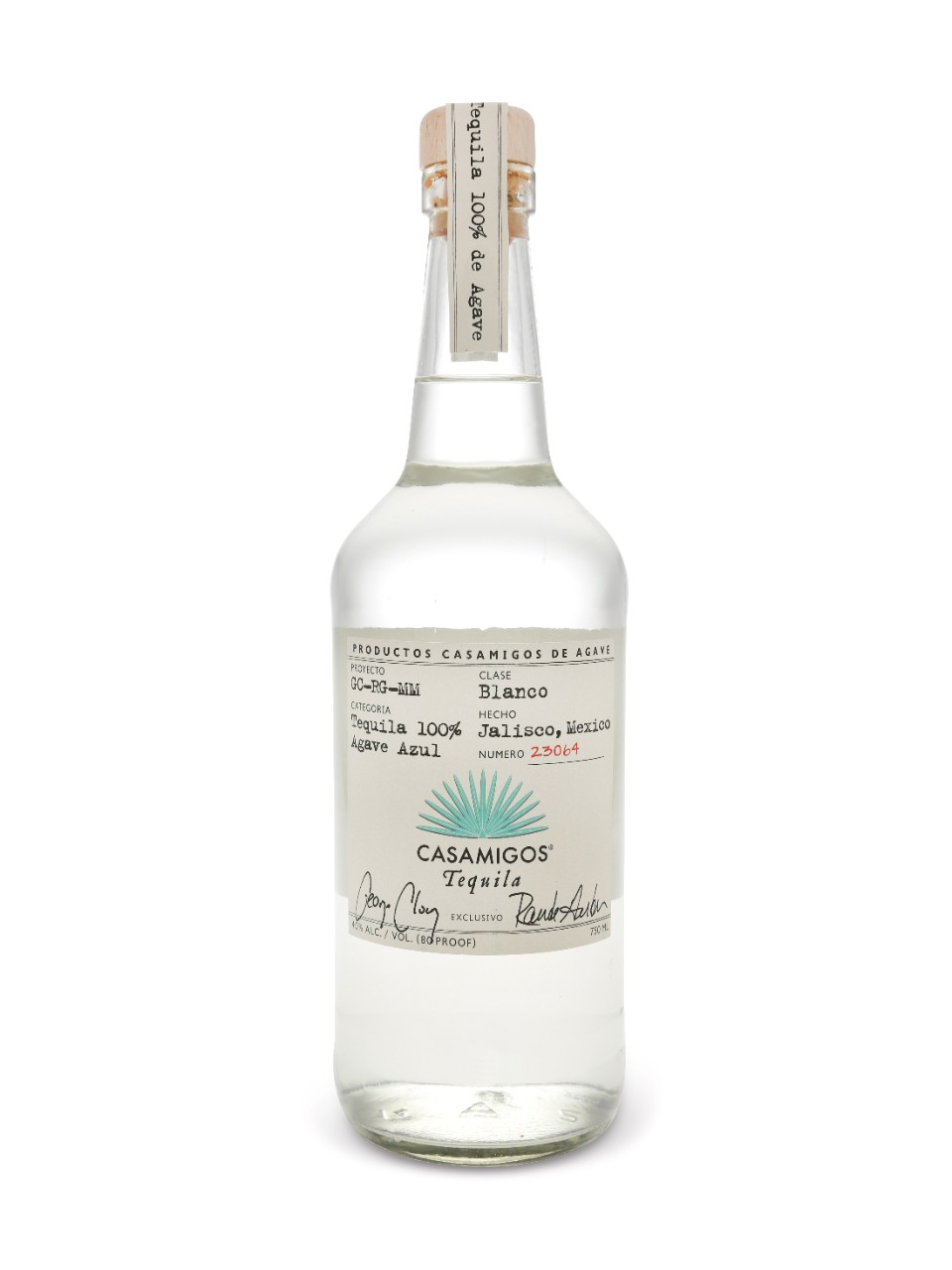 Image for Casamigos Tequila Blanco from LCBO