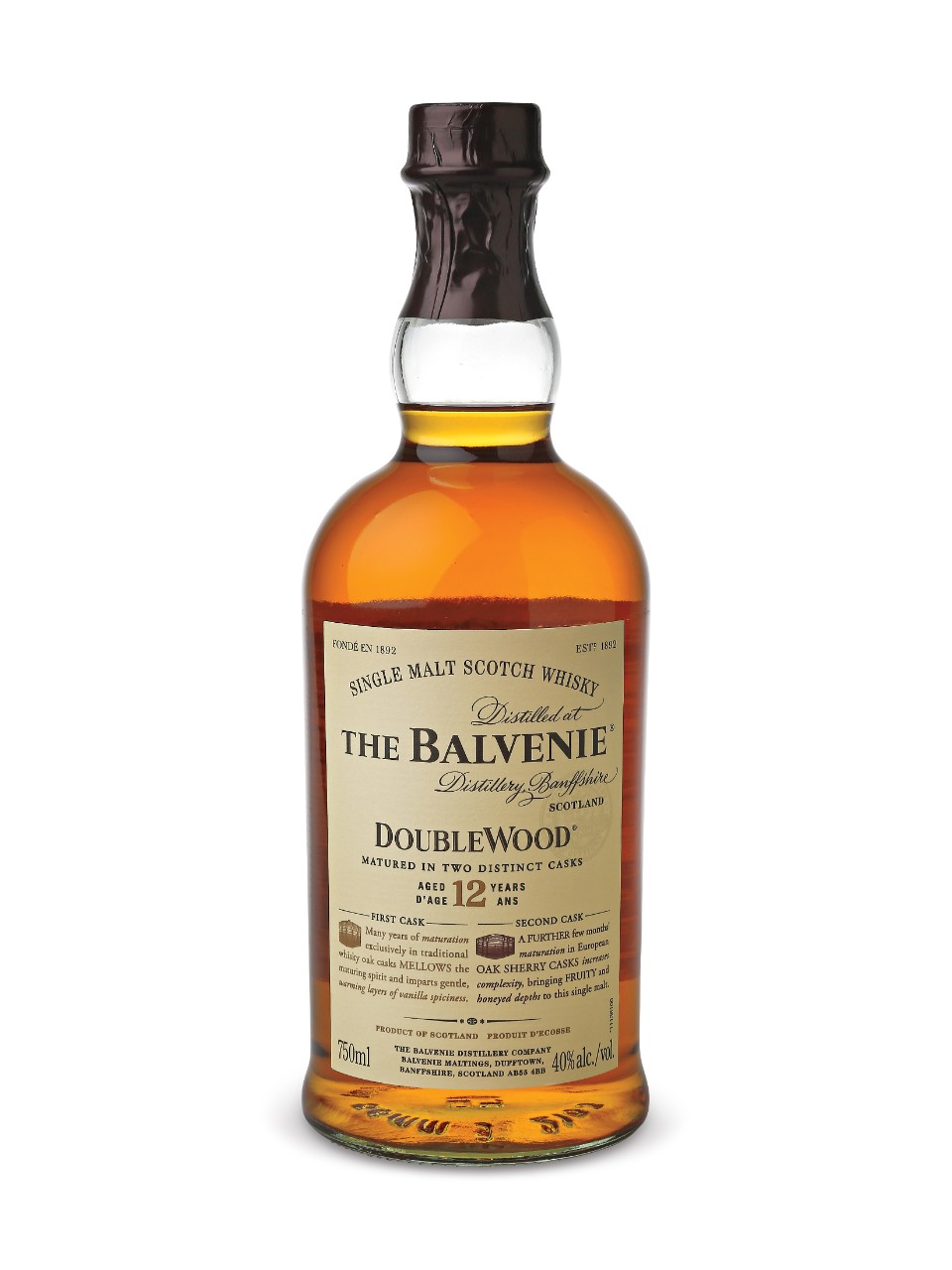 The Balvenie 12 Year Old Doublewood Scotch Whisky from LCBO