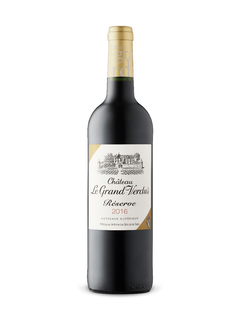 Image for Château Le Grand Verdus Réserve 2016 from LCBO