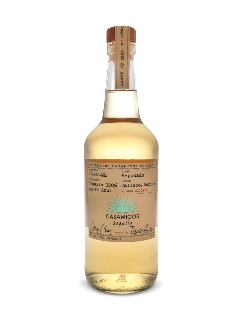 Image for Casamigos Tequila Reposado from LCBO