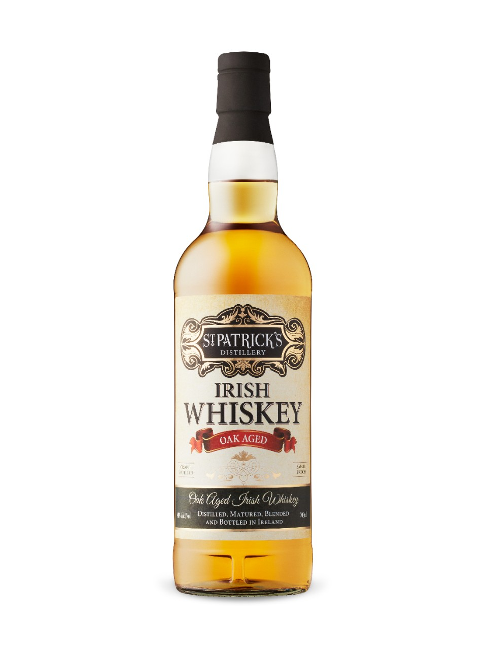 Image for St Patrick's Distillery Oak Aged Irish Whiskey from LCBO