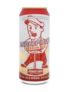 Junction Craft Brewing Brakeman's Session Ale