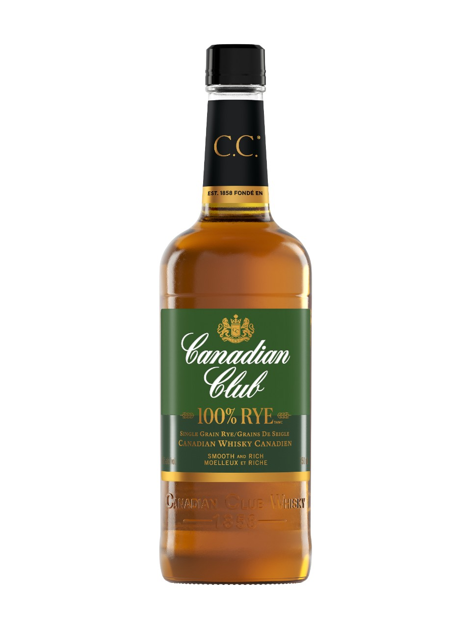 Image for Canadian Club 100% Rye from LCBO