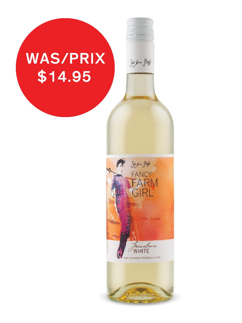 Image for Sue-Ann Staff Fancy Farm Girl Frivolous White VQA from LCBO