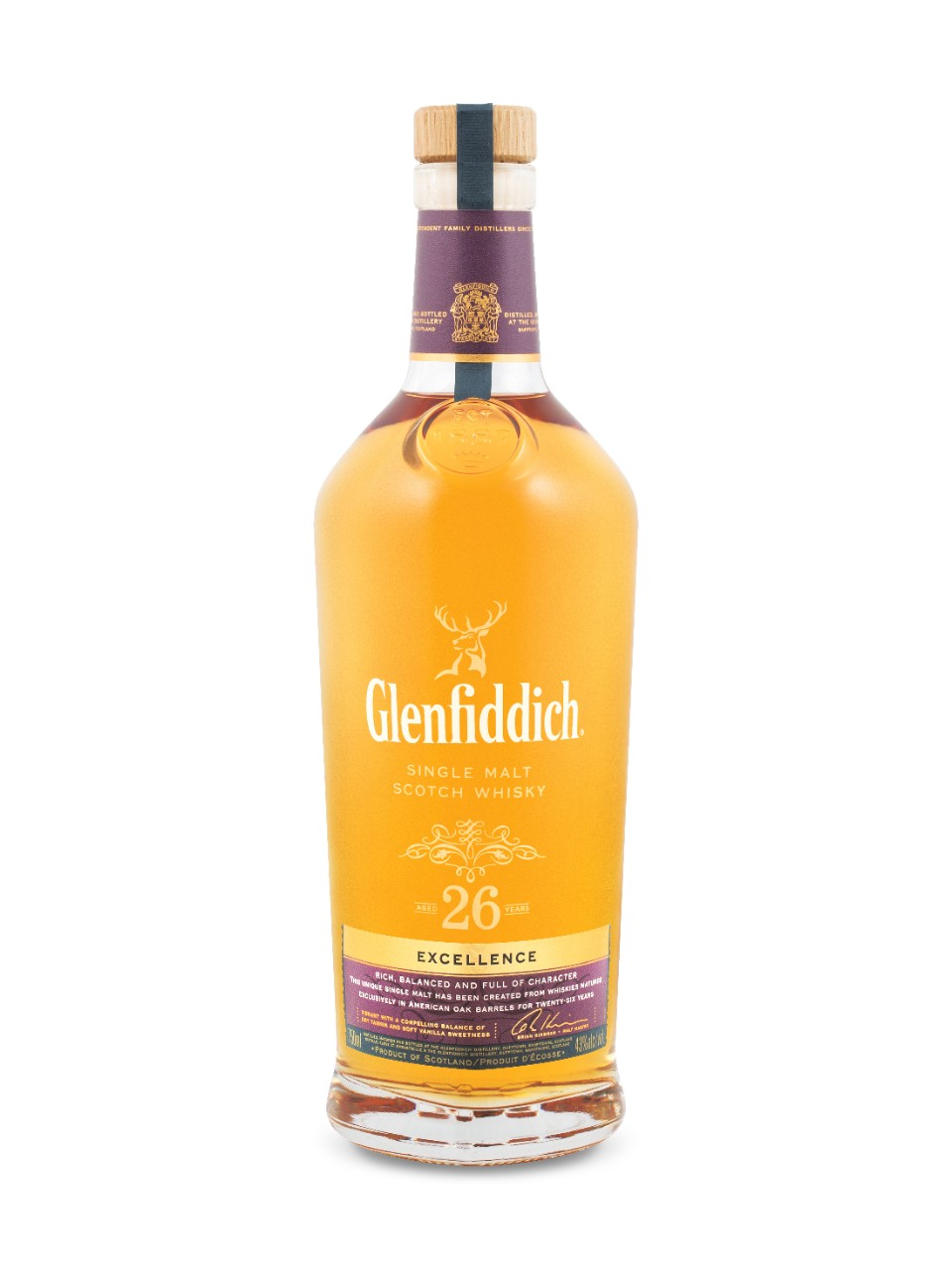 Glenfiddich Excellence 26-Year-Old Single Malt Scotch Whisky