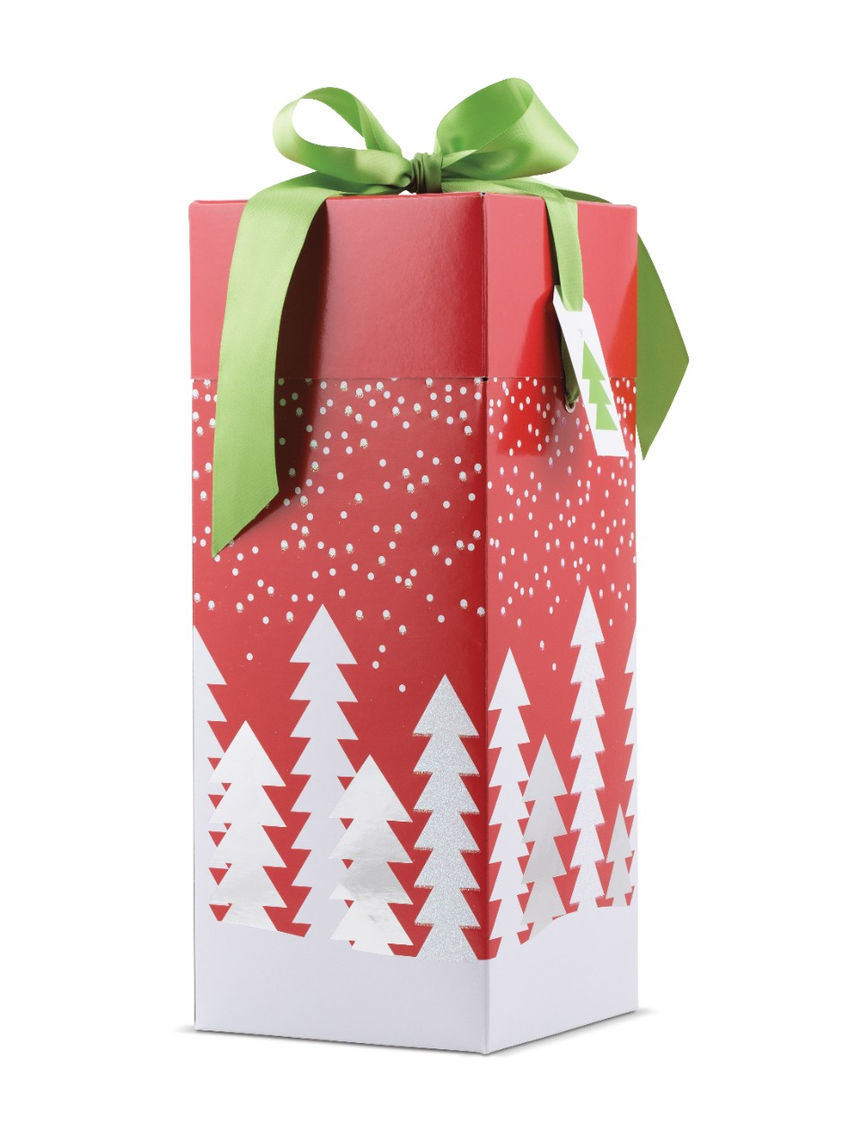 Holiday 2 Bottle Folding Box