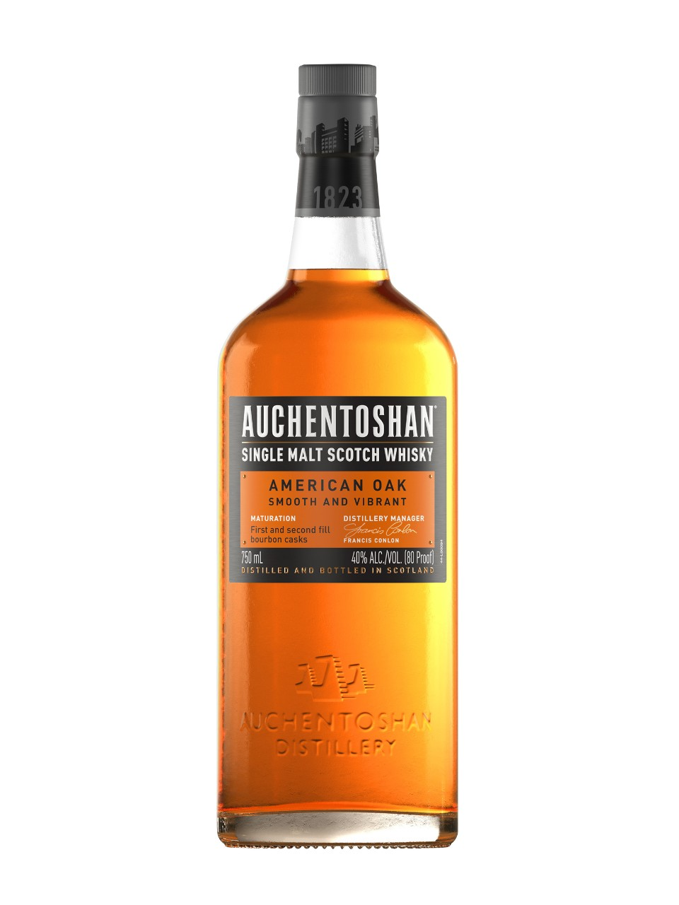 Image for Auchentoshan American Oak Single Malt Scotch Whisky from LCBO