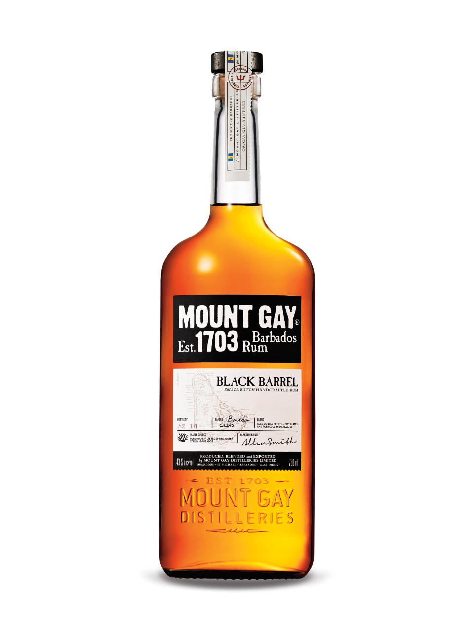 Image for Mount Gay Rum Black Barrel from LCBO