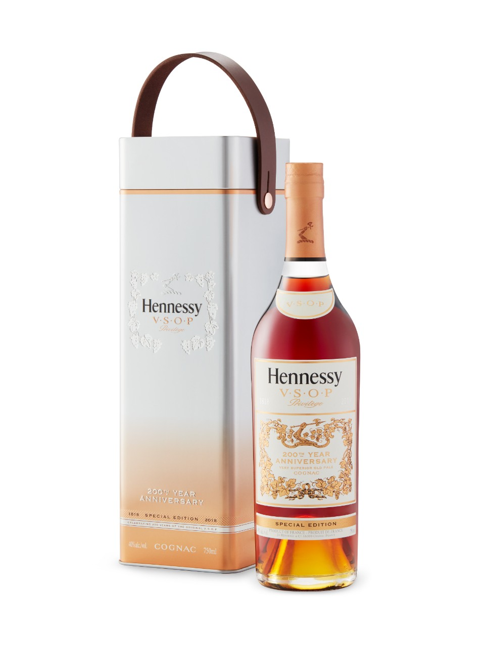 Cognac Hennessey VSOP 200th Anniversary Limited Edition