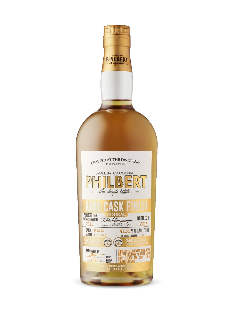 Image for Philbert Vintage Cognac Petite Champagne from LCBO