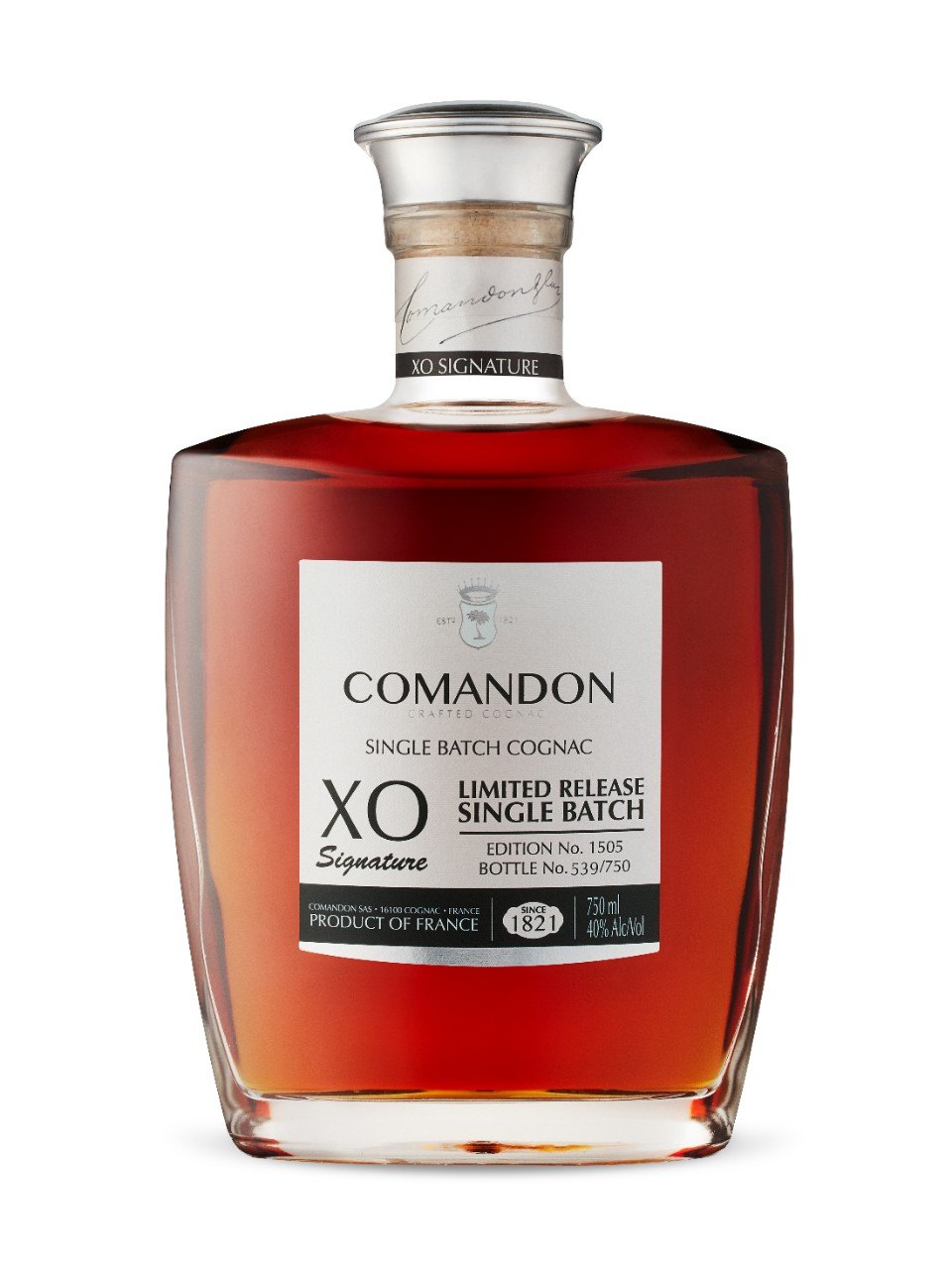 Image for Comandon XO Extra Old Single Batch from LCBO