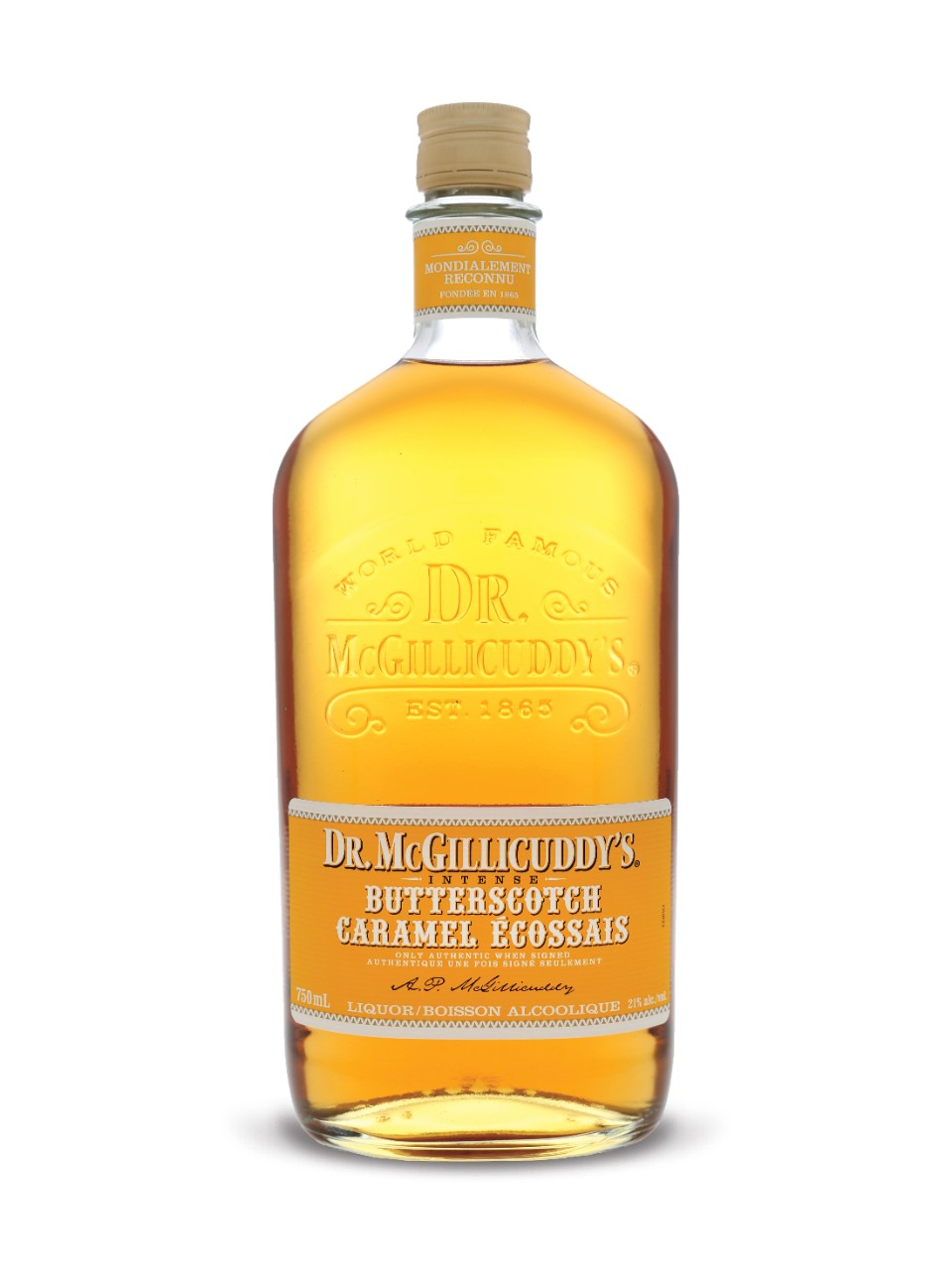 Dr. McGillicuddy's Intense Butterscotch from LCBO