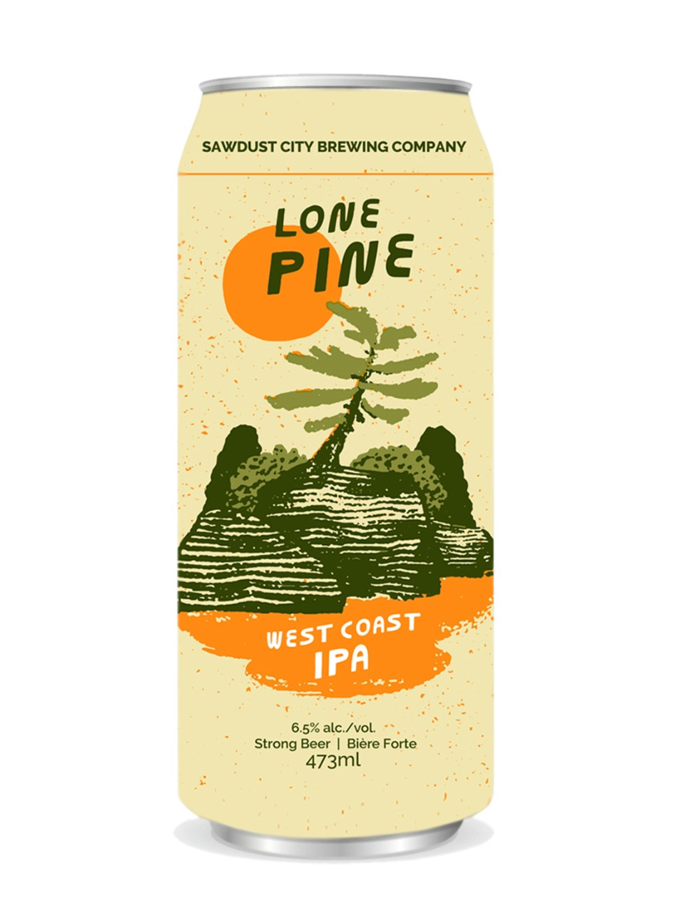 Sawdust City Lone Pine IPA from LCBO