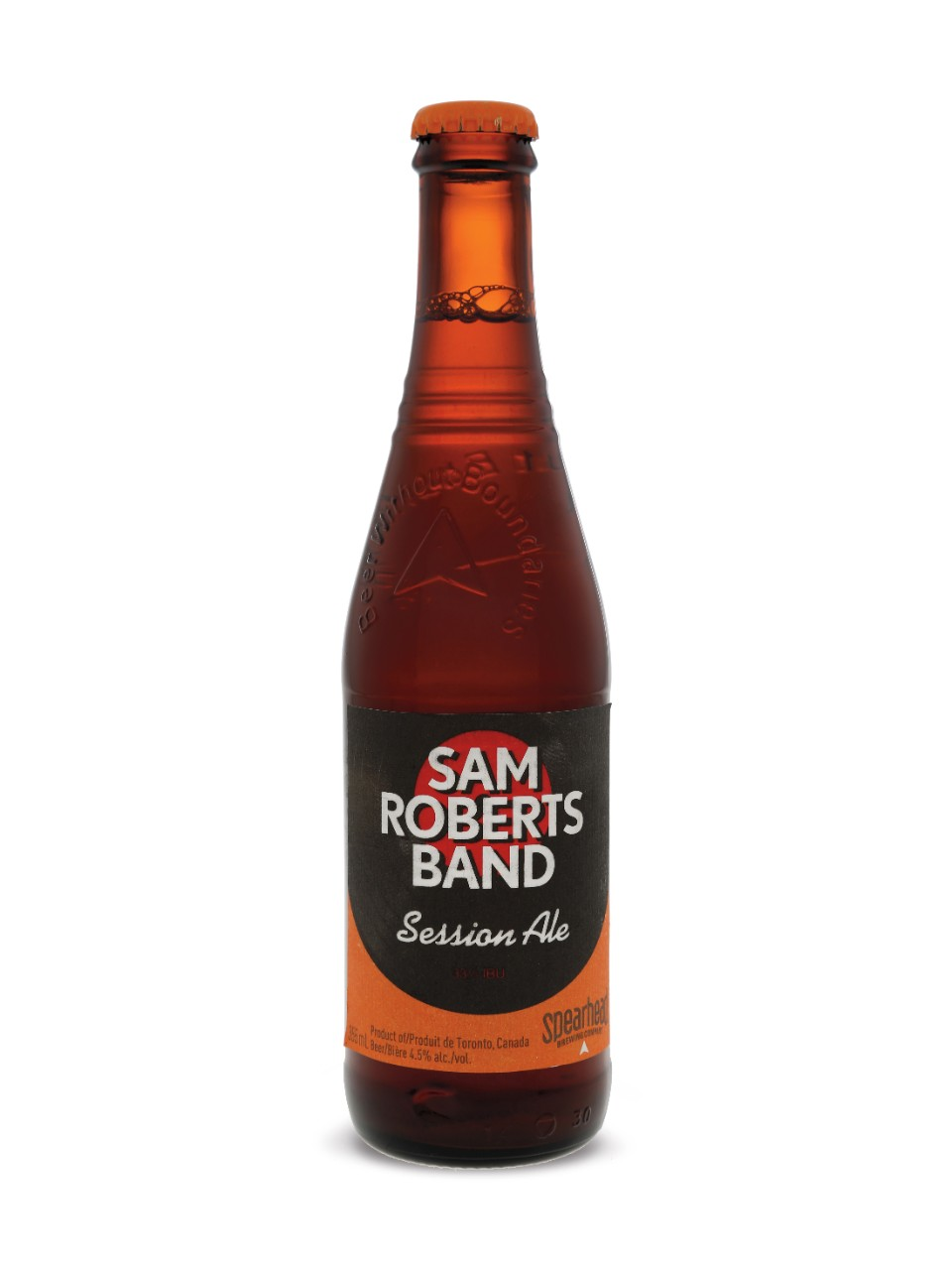 Spearhead Sam Roberts Band Session Ale