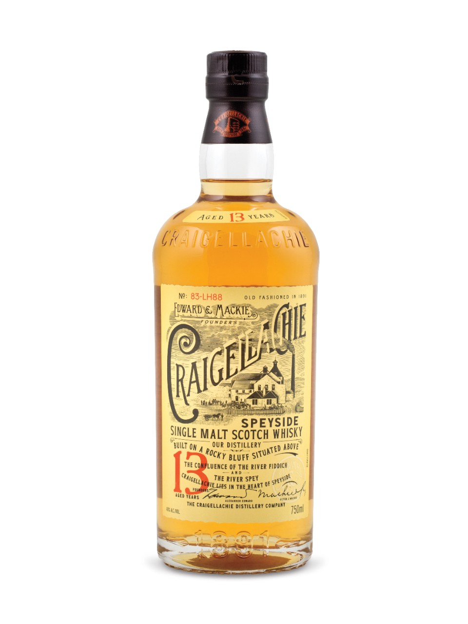 Image for Craigellachie 13 Year Old Speyside Single Malt Scotch Whisky from LCBO