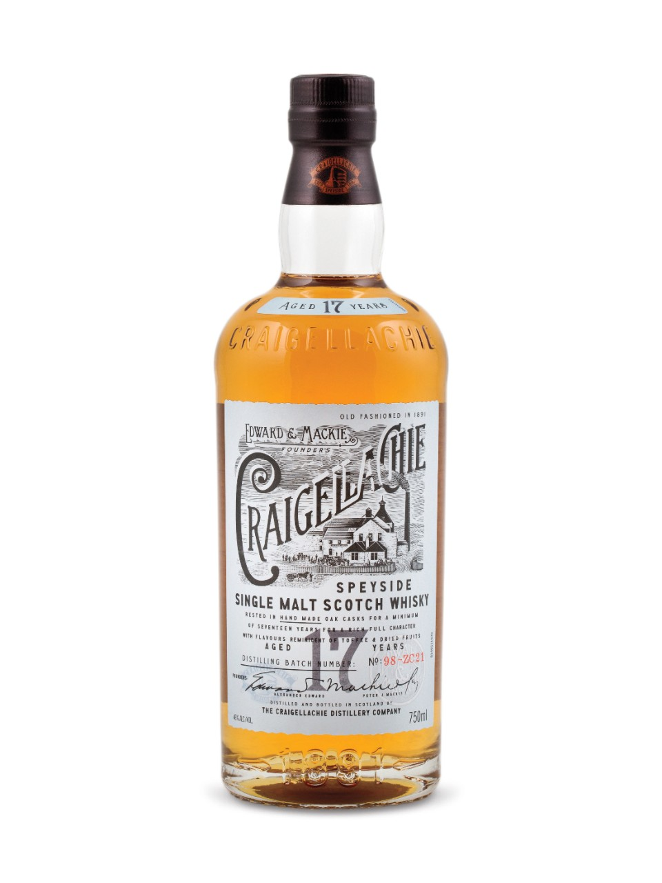Image for Craigellachie 17 Year Old Speyside Single Malt Scotch Whisky from LCBO
