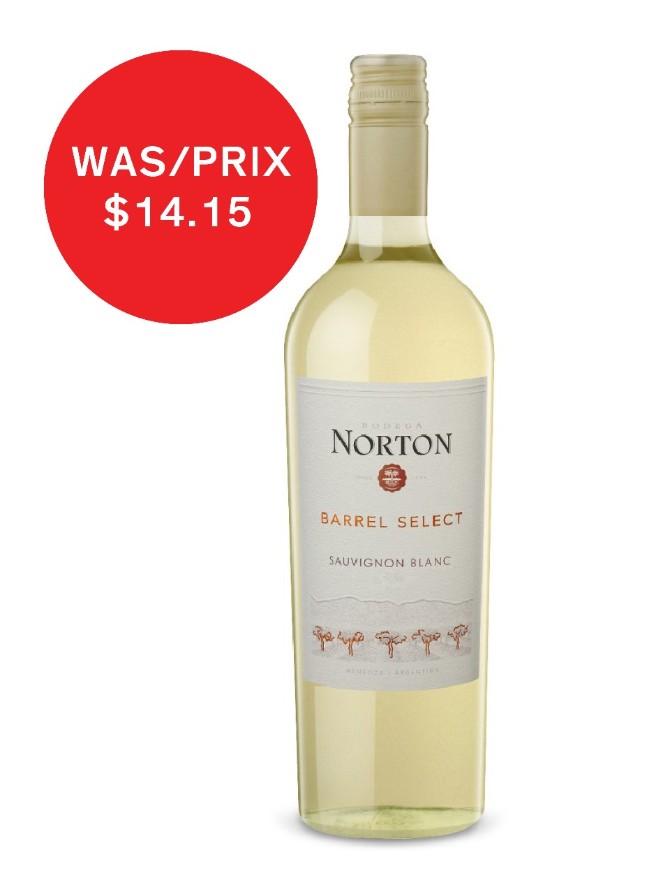 Image for Bodega Norton Barrel Select Sauvignon Blanc from LCBO