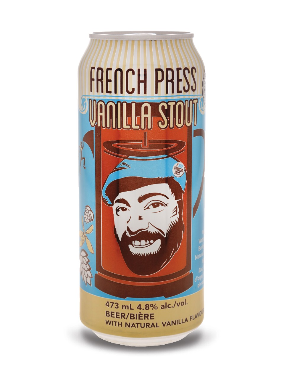 French Press Vanilla Stout