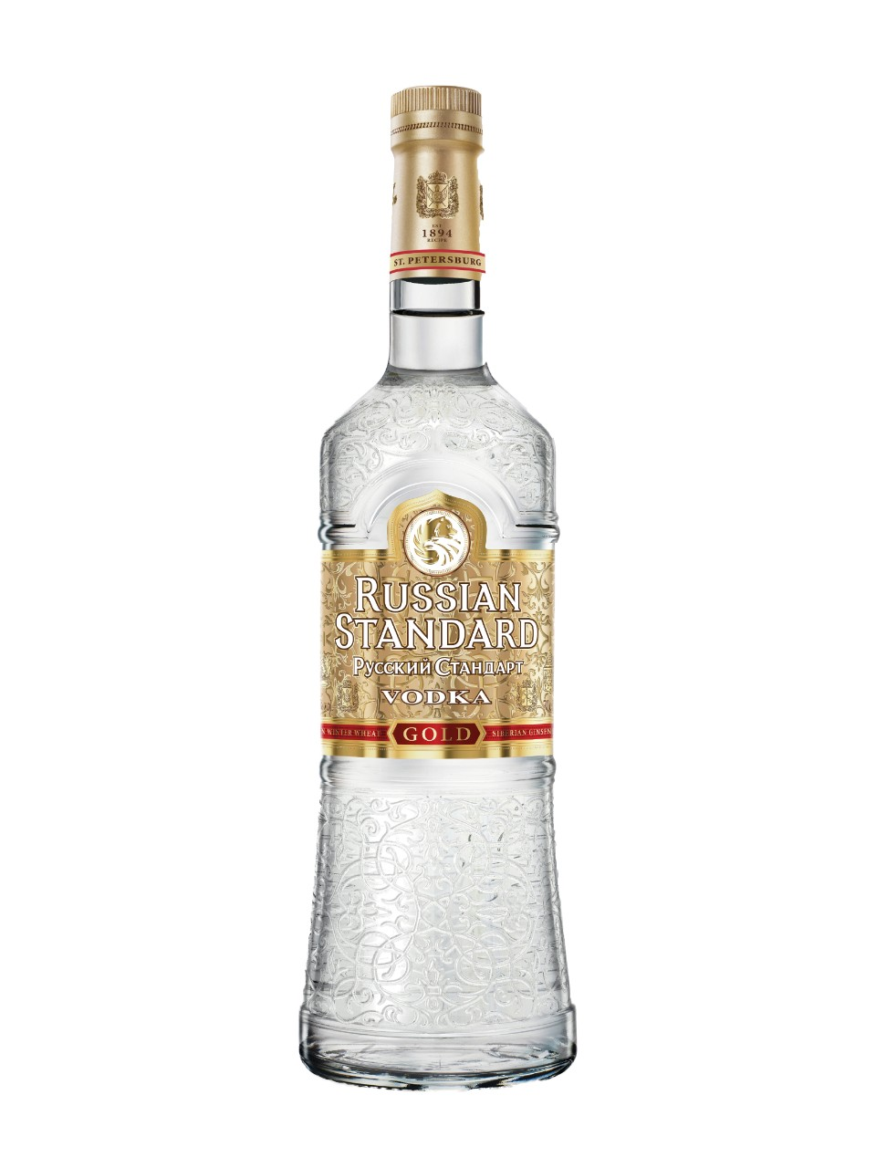Image for Russian Standard Gold Vodka from LCBO