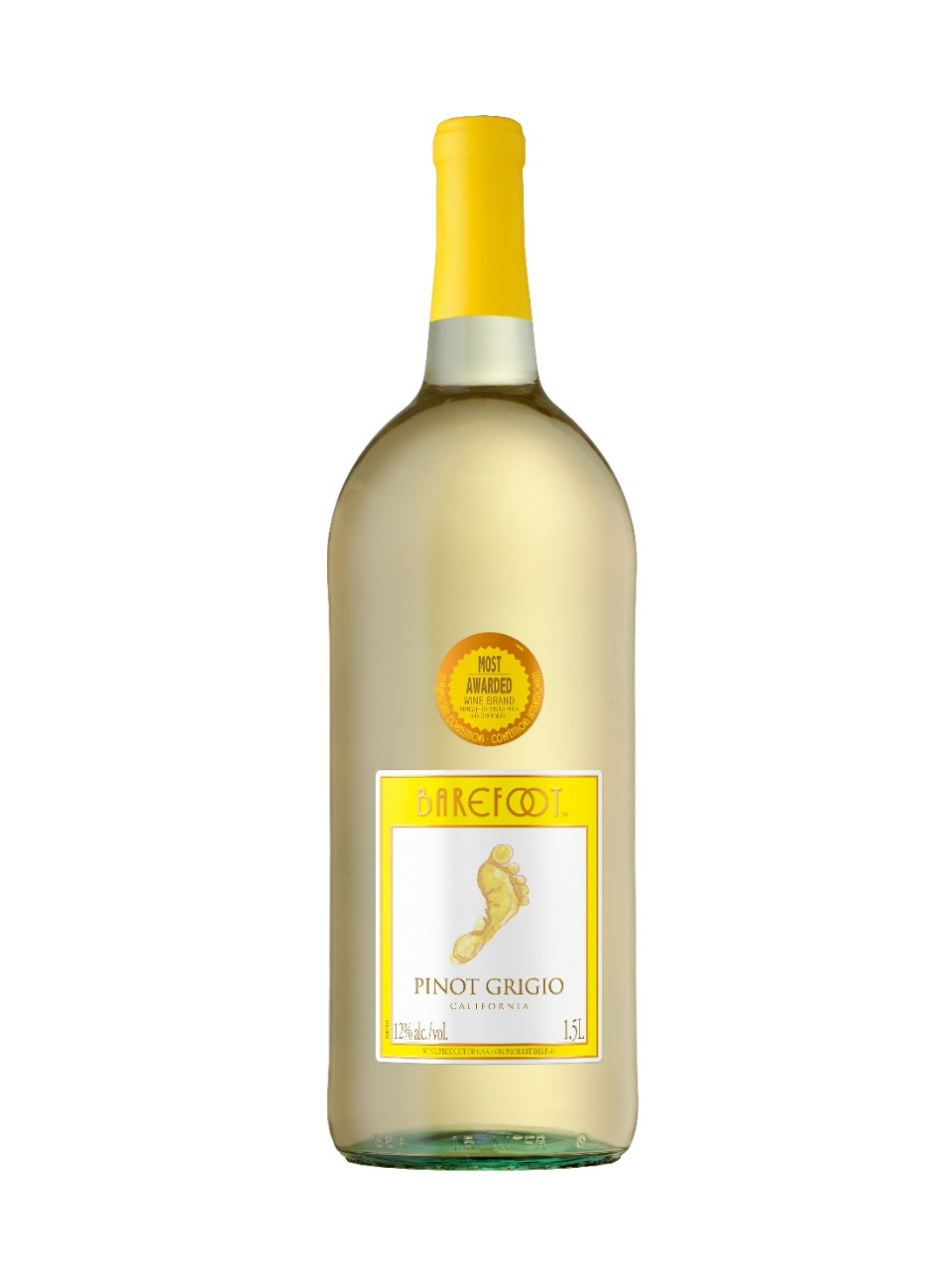 Image for Barefoot Pinot Grigio from LCBO