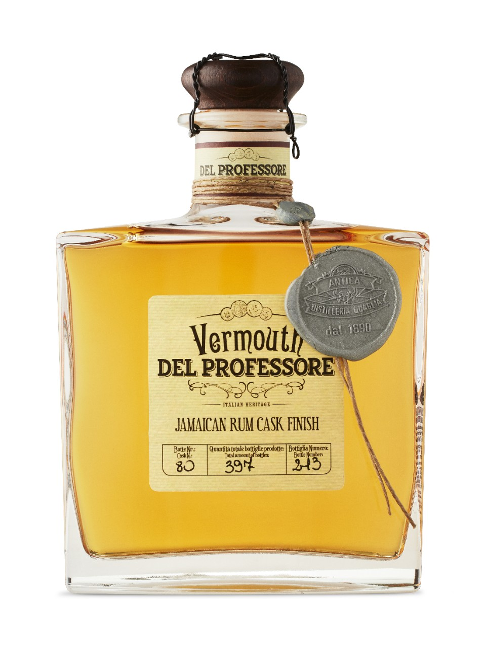 Del Professore Vermouth in Botte Da Rum Jamaicano