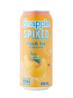 Snapple Spiked Peach Tea Vodka